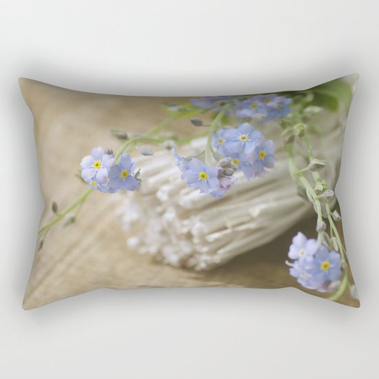 Do not forget me Rectangular Pillow