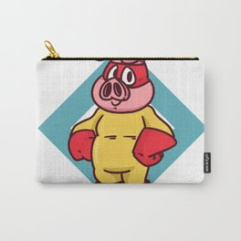 superhero pig Carry-All Pouch