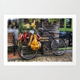Olde Bike Art Print