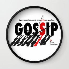Gossip Wall Clock