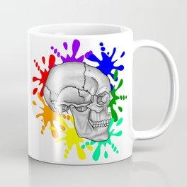 """I Was Born This Way""  (Skull Splash) Coffee Mug"