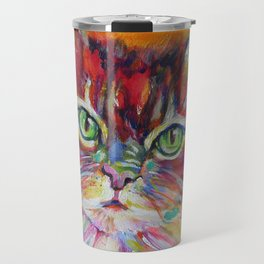 Big fat cat Travel Mug