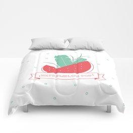Watermelon pop Comforters