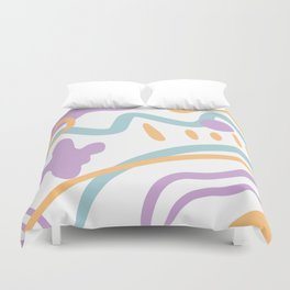 Path to Puddy Duvet Cover