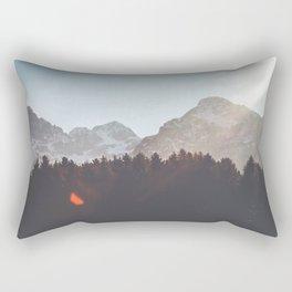 Forest&Mountains&Sky Rectangular Pillow