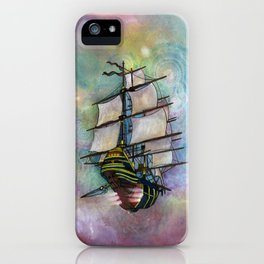 Mike's Tall Ship iPhone Case