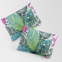 Leafy Tropical Pillow Sham