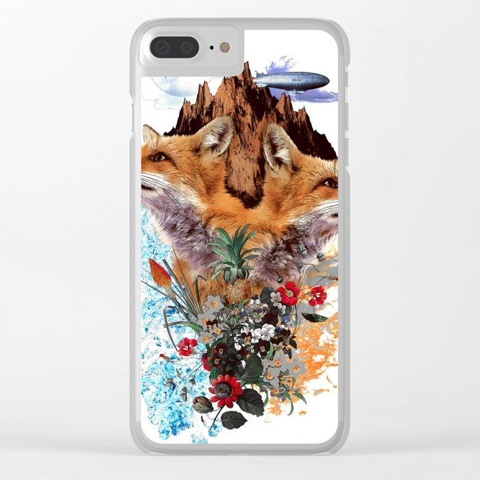 FOX II Clear iPhone Case