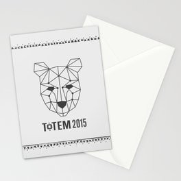 Totem Festival 2015 - Black & White Stationery Cards