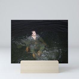 Wet Business Mini Art Print
