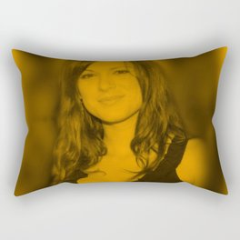 Danneel Ackles Rectangular Pillow