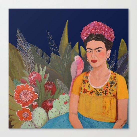 Frida.licious Canvas Print