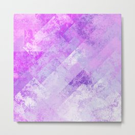 Simply Abstract (Soft Pastel) Metal Print