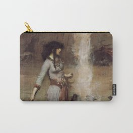 The Magic Circle, John William Waterhouse Carry-All Pouch