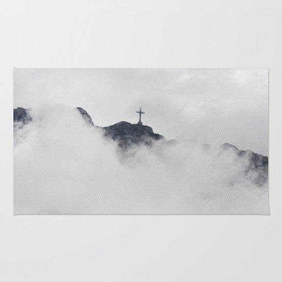 Foggy Faith Rug