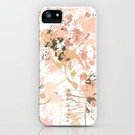 Skin Tones - Liquid Makeup Foundation - on White iPhone Case