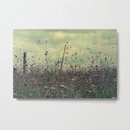 Pink Flowers pt.1 Metal Print