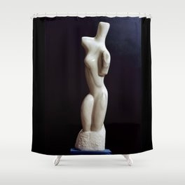 Torso  Man by Shimon Drory Shower Curtain