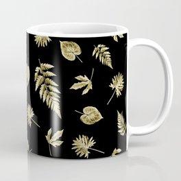 Thanksgiving Gold Leaves Coffee Mug