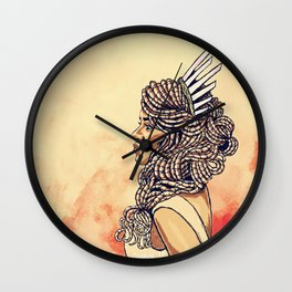 Regal Stance Wall Clock