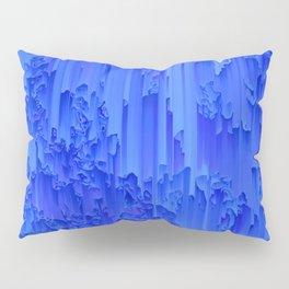 Melted, blue Pillow Sham