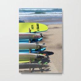 Manly Beach Metal Print