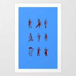 Hawt Nickels Stuff! Art Print