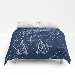Libra zodiac sign Comforters
