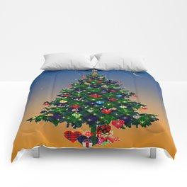 Make A Holiday Wish Comforters