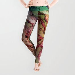 To reveal a gentle rose Leggings