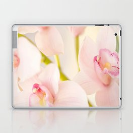 Orchid Flower Bouquet On A Light Background #decor #society6 #homedecor Laptop & iPad Skin