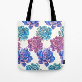 Vibrant Succulents  Tote Bag