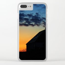 Hebridean Isle Sunset ii Clear iPhone Case