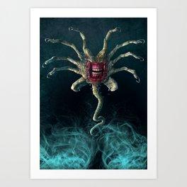 The Xenobite Facehugger Art Print