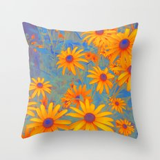 Beautiful Wild Summer Throw Pillow