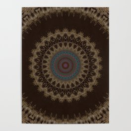 Sequential Baseline Mandala 26 Poster
