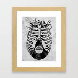 Til Death do us part. (v1) Framed Art Print
