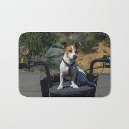 Motorcycle Pup Bath Mat