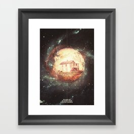 An Untidy House Framed Art Print