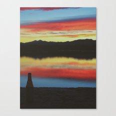 Colorado Skies and Drinks Canvas Print