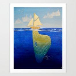 underlying #1 Art Print