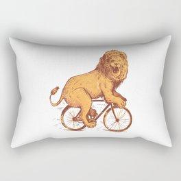 BICYCLE LION Rectangular Pillow