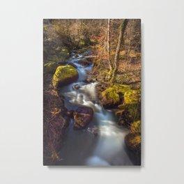 Becky Falls, Dartmoor Metal Print