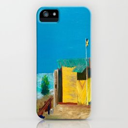 Jamaica. Jamaican Blues iPhone Case
