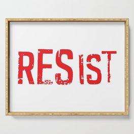 Resist Serving Tray