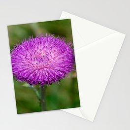 Nodding Thistle Close-Up Stationery Cards