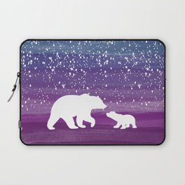 Bears from the Purple Dream Laptop Sleeve