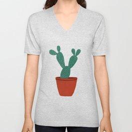 Cactus No. 1 Unisex V-Neck