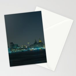 Liverpool UK Nightscape Stationery Cards
