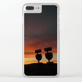 Down By the Roadside Clear iPhone Case